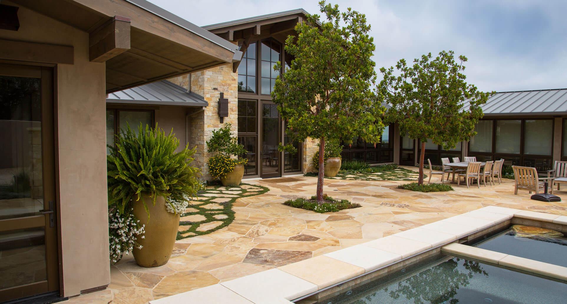 California-Garden-7-Flagstone-Patio-Pool